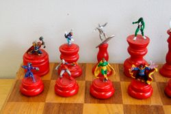 Marvel Chess Set Queen Side