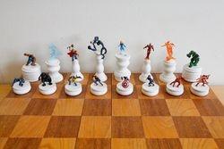 Marvel Heroes Chess Set