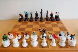 Marvel Heroes versus Marvel Villains Chess Set