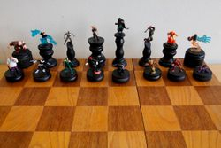 Marvel Villains Chess Set