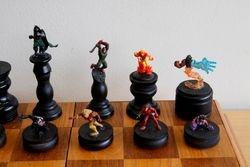 Marvel Villains Chess Set King Side