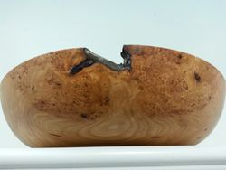 "9"" Cherry Burl Bowl"