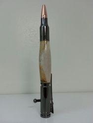 Deer antler bullet pen