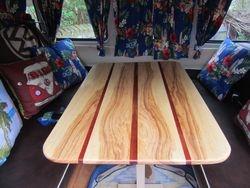 80 cm x 50 cm Ash and redwood