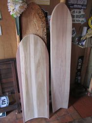 Boards completed for customers awaitng top coats
