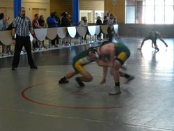 Reece denying the takedown