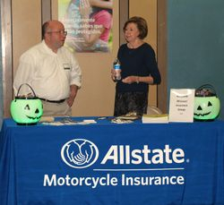 Allstate table, one of our sponsors.