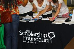 Scholarship Foundation table