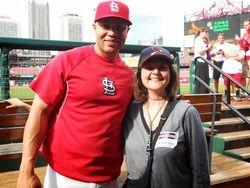 Carlos Beltran & HAC President Ms. Braxs