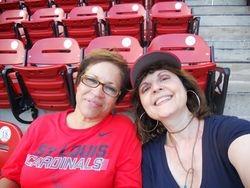 HAC Board Member & President enjoying the Cardinals Game!