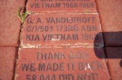 Brick walkway @ The Veterans Memorial Park