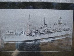 Memorial for The USS Barnwell WW II