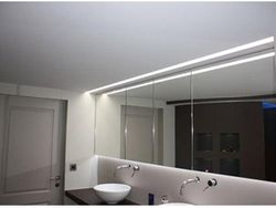 Spanplafond licht afwerking