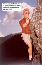 Climbing in the White Mountains 6