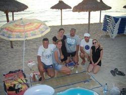 Companions-i na plazi