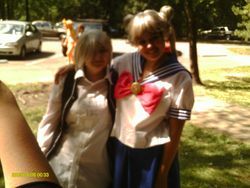Zero Kiryuu and Sailor Moon