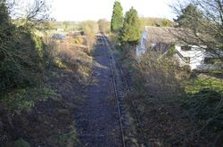 Looking in the direction of Lichfield