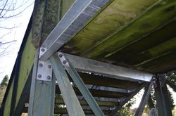 reinforced support beams