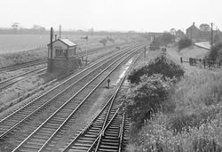 Brownhills Signal Box (1965)