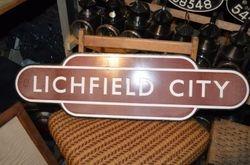Lichfield City Totem Sign