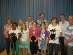 Gemeentelijke Huldiging Sportverdienste 2012