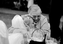 Bride with her grandmother, they are really close, and that*s the moment...