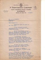 Northwood Letter 1