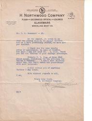 Northwood letter 2