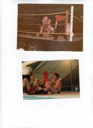 Two wrestling shots