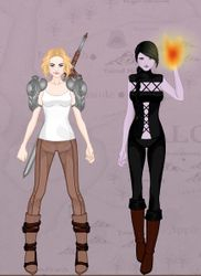 Gender bent Zander and Jace