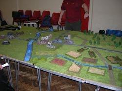 18ft long table for Market Garden Game