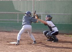 Taro Umegaki (Batter)  Peter Liebman (Catcher)
