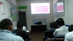 A Class at Allianz Insurance Lanka