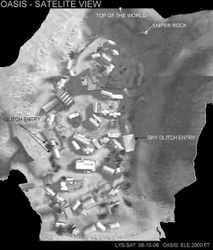 Oasis Satelite Image