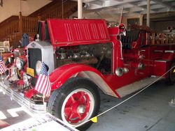 1930 Village of Laurium Pumper