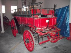 1900 Fire Wagon