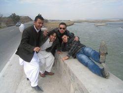 Me Mujtaba, Fasih and Farden