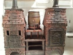 Pie ovens and Ale Tub