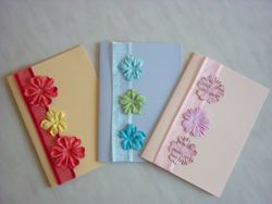 Easiest Card Ever - Simple Flower Cards