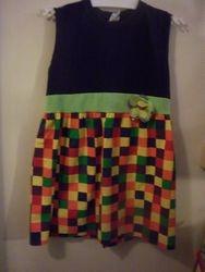 T-Shirt Dress with fabric skirt