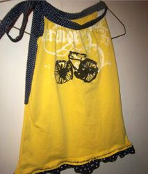 Bicycle Dress from T-Shirt