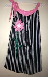 Girl's Dress from Ladies Blouse