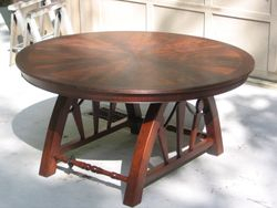 Table base built by Young Craftsmen