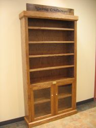 Display Cabinet installed in visitor center