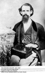 Ira Edward Dexter, ca 1866
