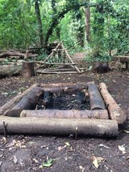 The fire Circle at Litten Nature Reserve