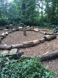 Story Circle and Forest School Base Camp
