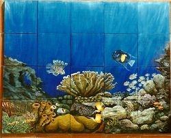 Underwater Scene mural