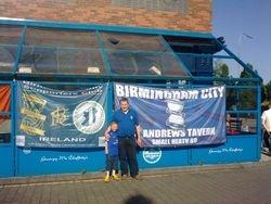 Shamrock Rovers -v- Birmingham City