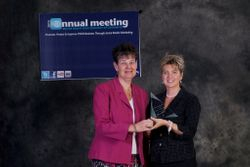 Agape Senior Accepts Award From Myrtle Beach Chamber For Innovative Business of the Year